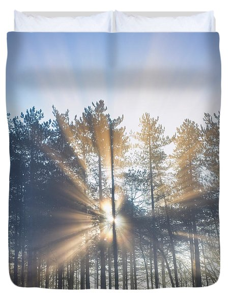 A New Day Dawns Duvet Cover
