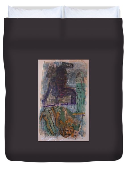 A Pawn On Life's Board Duvet Cover