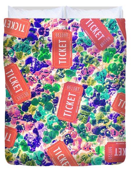 A Popcorn Promo Duvet Cover