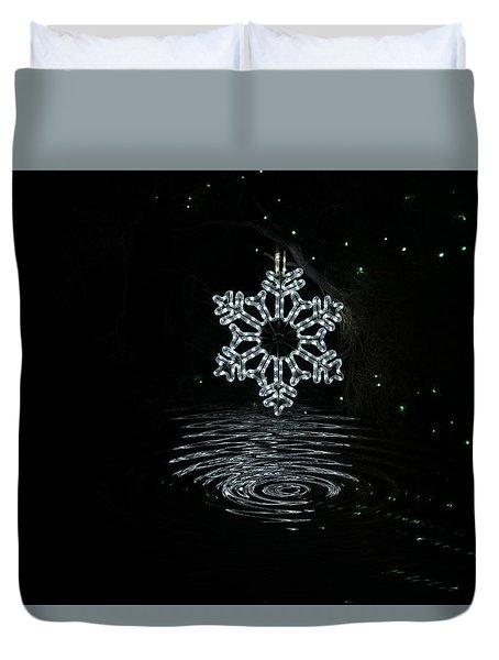 A Ripple Of Christmas Cheer Duvet Cover