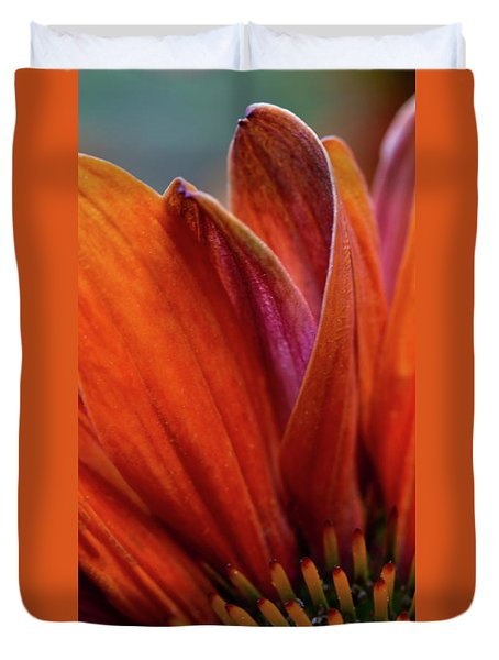 Duvet Cover featuring the photograph A Slice From The Cone by Dale Kincaid