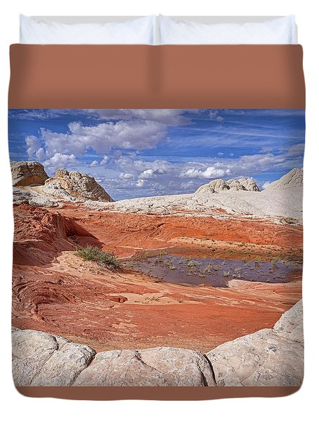 Duvet Cover featuring the photograph A Strange World by Theo O'Connor