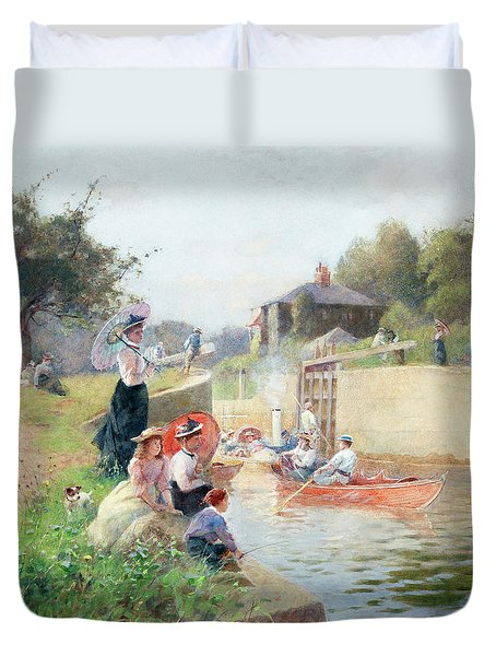 A Summer's Day, Marlow Lock Duvet Cover