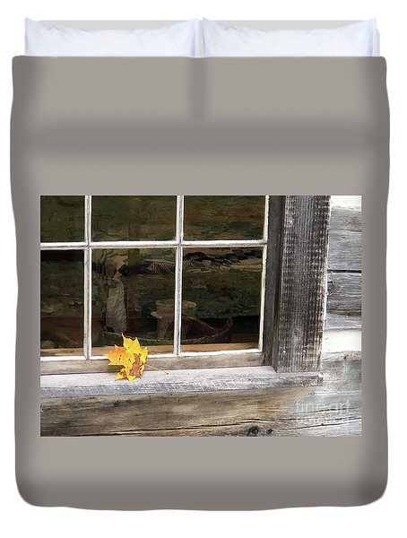 A Thoughtful Moment  Duvet Cover