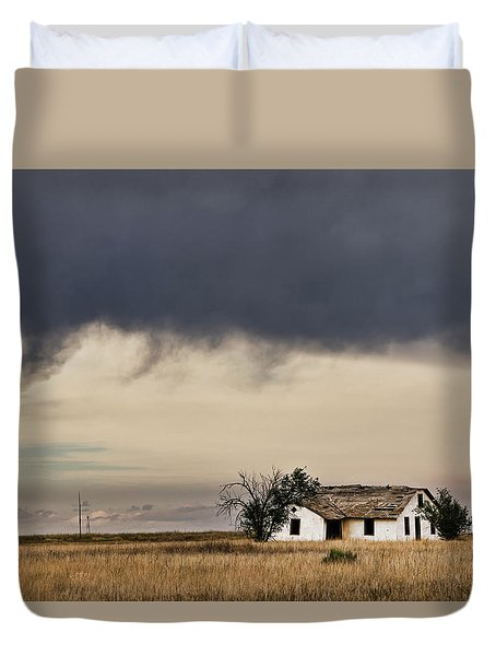 Abandoned New Mexico Duvet Cover