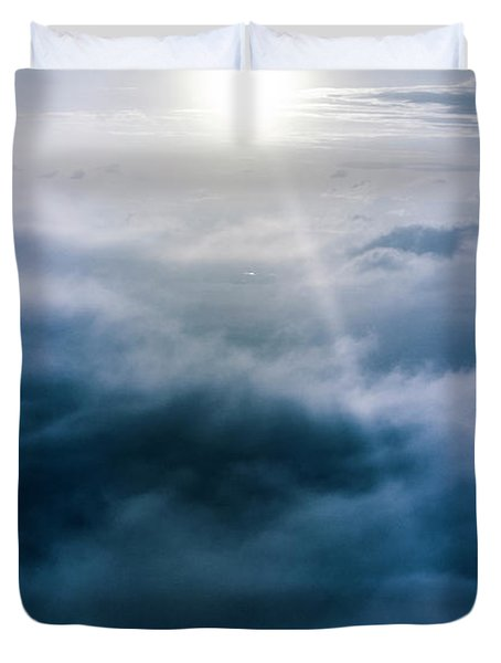 Above And Beyond Duvet Cover
