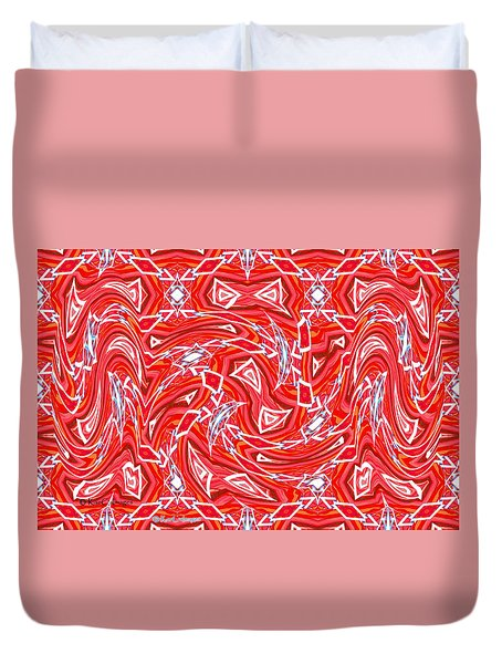 Abstract 1010 Duvet Cover