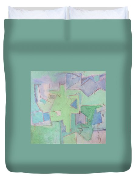 Abstract 3 Duvet Cover