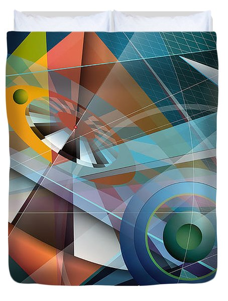 Abstract 4 Duvet Cover