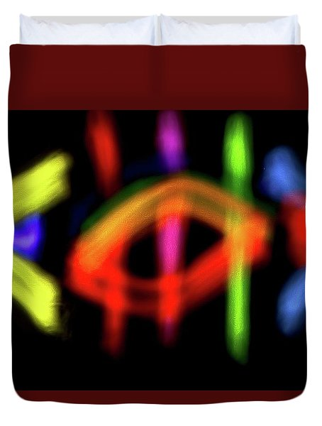 Abstract 48 Duvet Cover