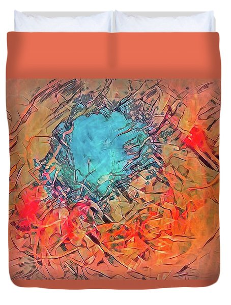 Abstract 49 Duvet Cover