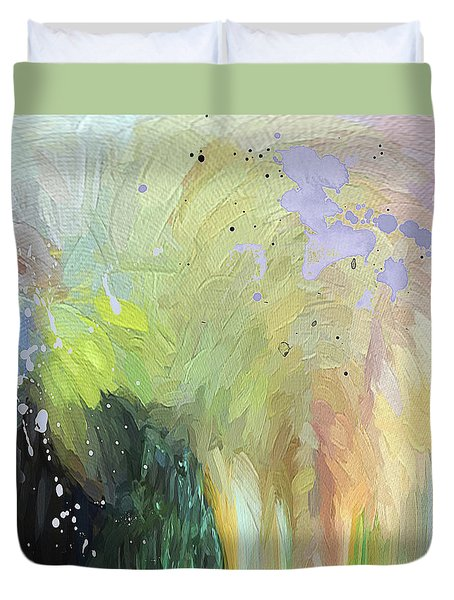 Abstract 75 Duvet Cover