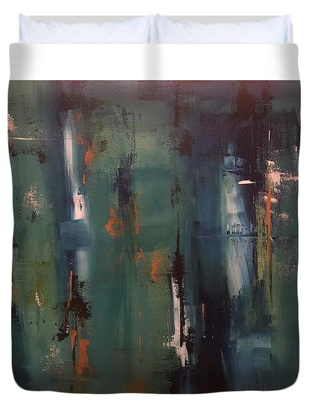 Abstract IIi Duvet Cover