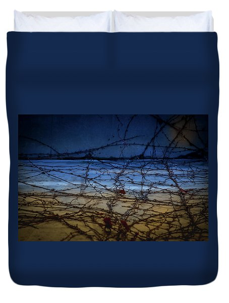 Abstract Landscape Duvet Cover