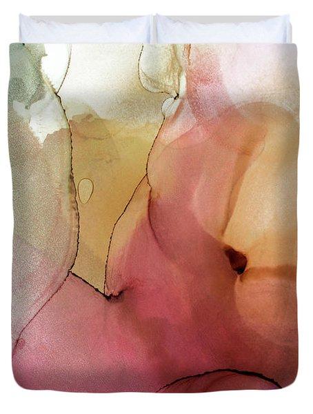 Abstract Summer Nectar Duvet Cover