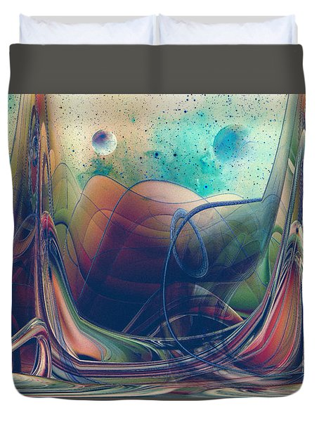 Turbulence Duvet Cover