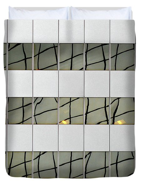 Abstritecture 13 Duvet Cover
