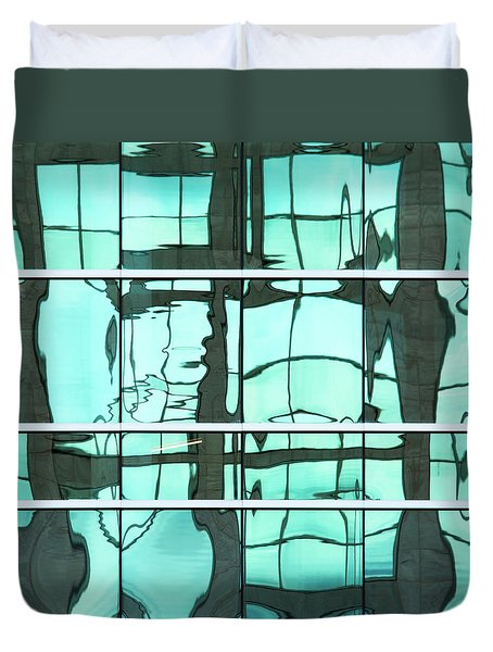 Abstritecture 36 Duvet Cover