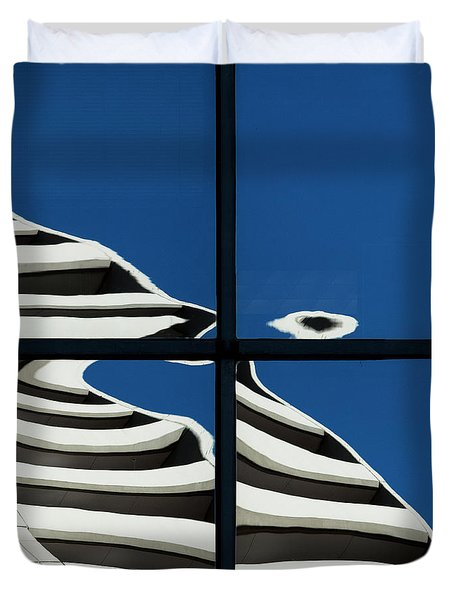 Abstritecture 41 Duvet Cover