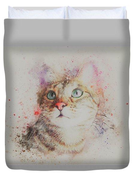 Abyssinian Cat Duvet Cover