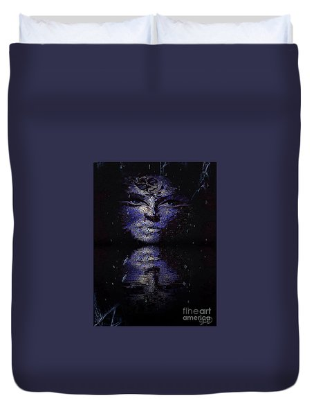 Act With Superficial Purpose Duvet Cover