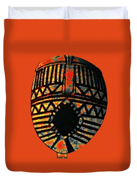 African Art Mask1 Duvet Cover