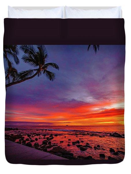 After Sunset Vibrance Duvet Cover