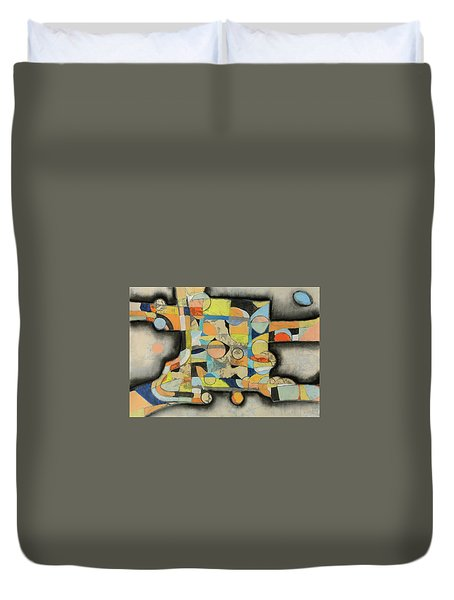 After The Beach Duvet Cover