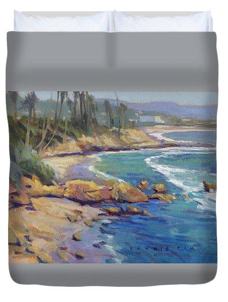 Afternoon Colors / Laguna Beach Duvet Cover