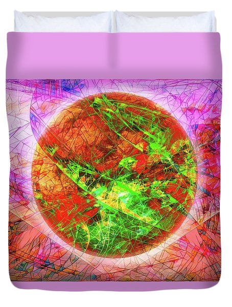 Agony And Ecstasy Duvet Cover