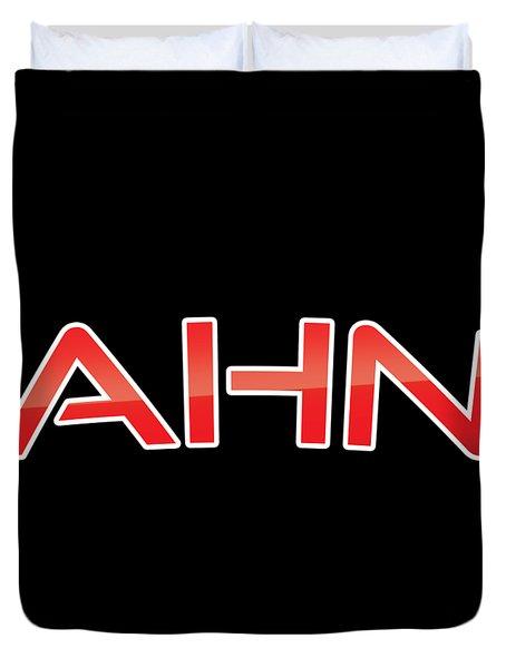 Ahn Duvet Cover