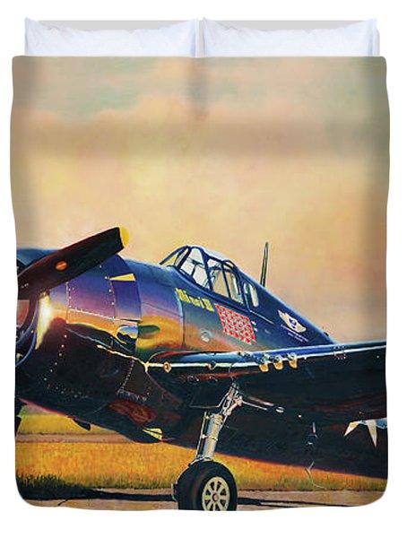 Airshow Hellcat Duvet Cover