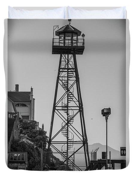 Alcatraz Light House Duvet Cover
