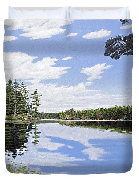 Algonquin Portage Duvet Cover