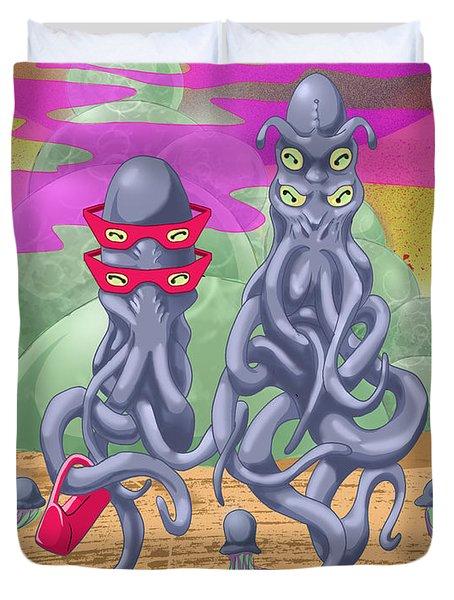 Alien Gothic Duvet Cover