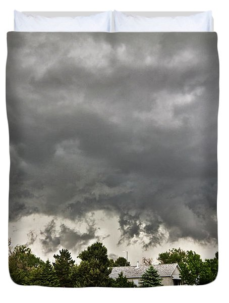 Alive Sky In Wyoming 2 Duvet Cover