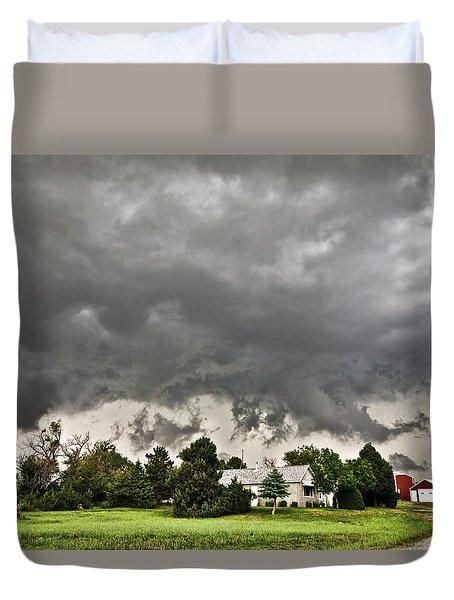 Alive Sky In Wyoming 2 Duvet Cover