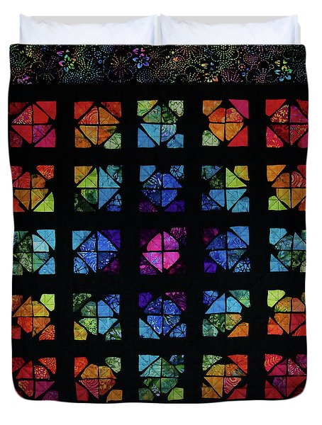 All The Colors Duvet Cover