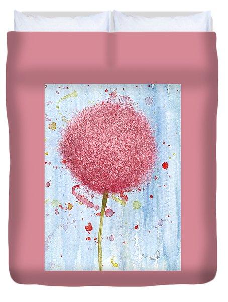 Allium Splash Duvet Cover