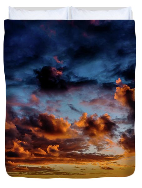 Almost A Painting Duvet Cover