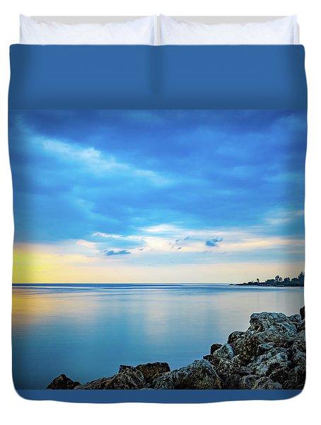 Almost Sunset Duvet Cover