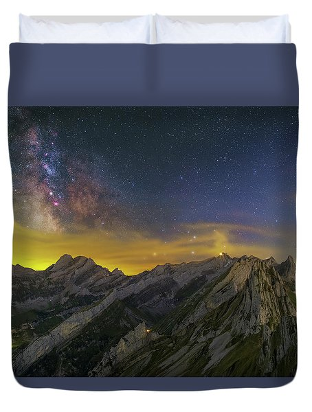 Alpstein Nights Duvet Cover