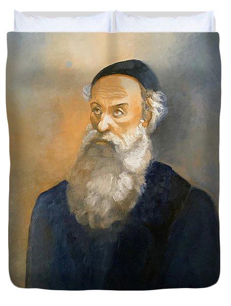 Alter Rebbe Schneur Zalman Duvet Cover