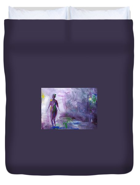 Always Searching Duvet Cover