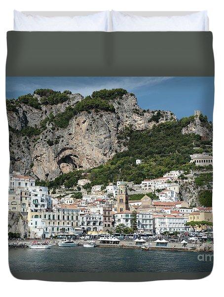 Amalfi Port Duvet Cover
