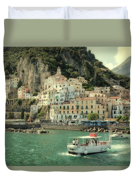 Amalfy Duvet Cover