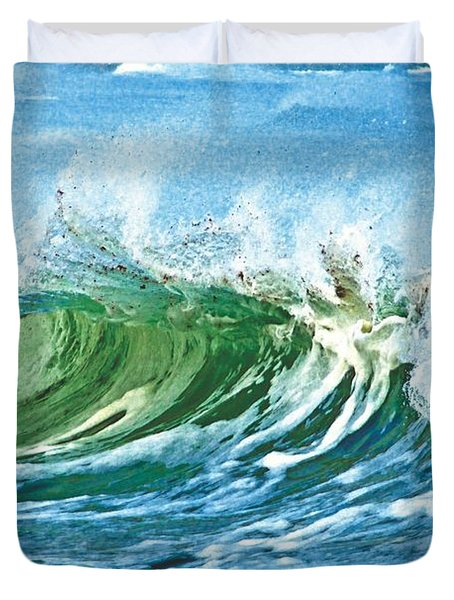 Amazing Wave Duvet Cover