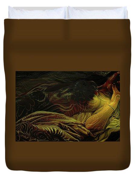 Amber Light Duvet Cover