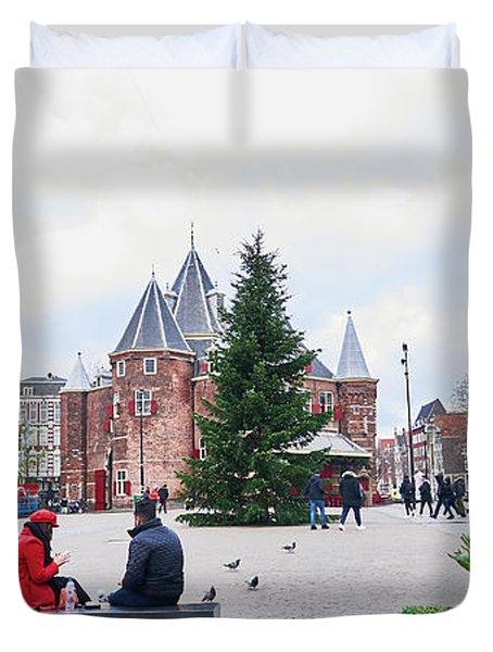 Amsterdam Christmas Duvet Cover