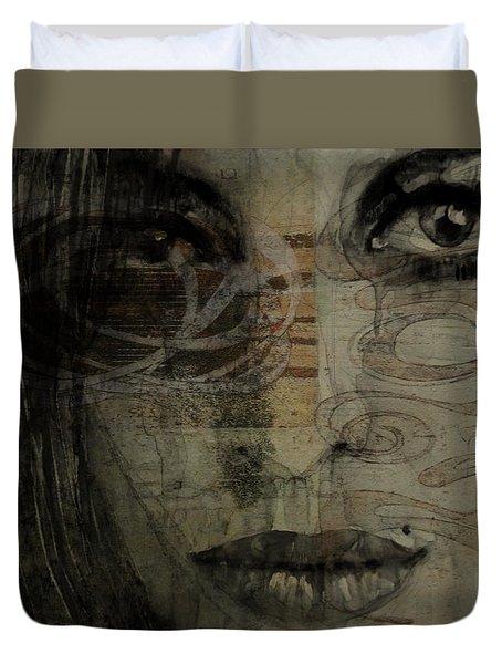 Amy Winehouse - Back To Black Duvet Cover